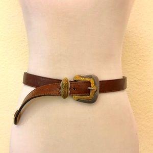 Streets ahead leather belt
